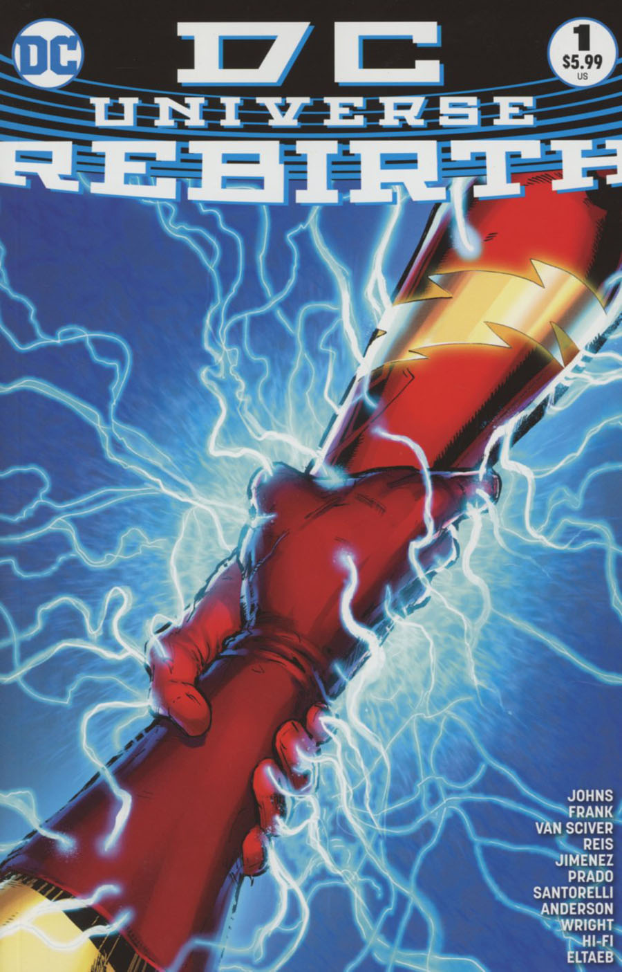 DC Universe Rebirth Special #1 Cover I 5th Ptg Gary Frank Variant Cover