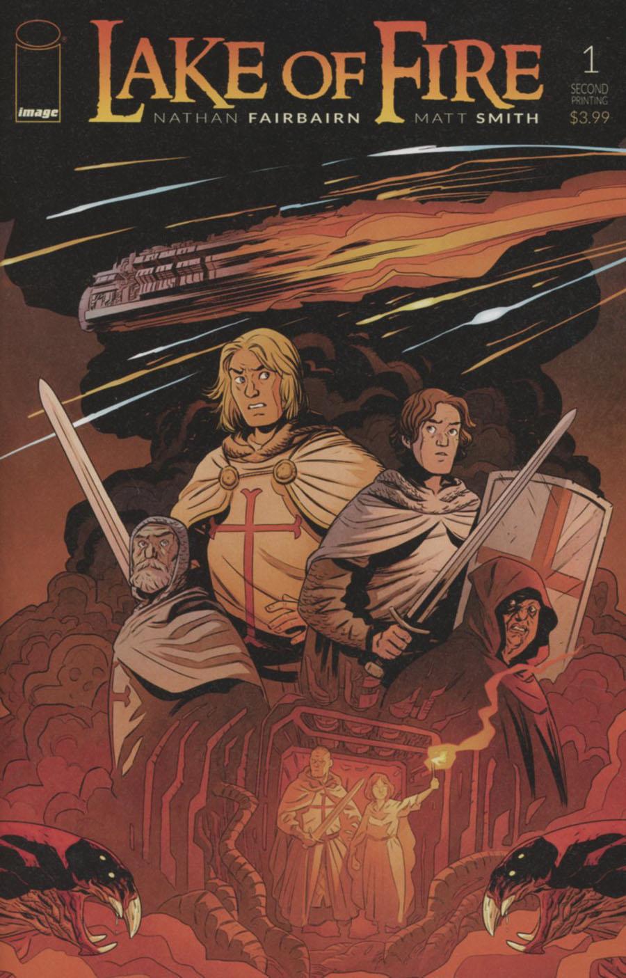 Lake Of Fire #1 Cover C 2nd Ptg Matt Smith & Nathan Fairbairn Variant Cover