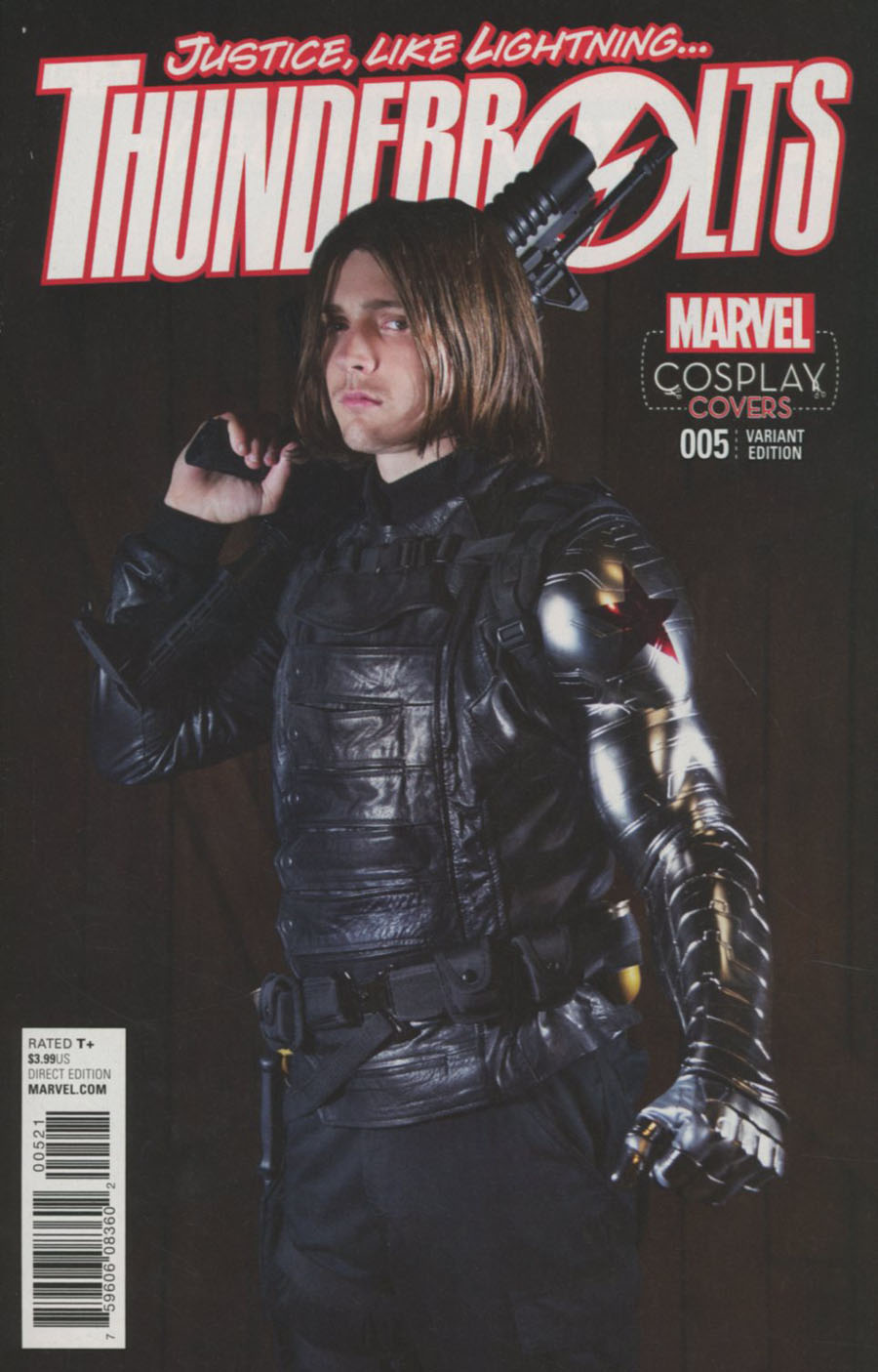 Thunderbolts Vol 3 #5 Cover B Incentive Cosplay Variant Cover (Civil War II Tie-In)