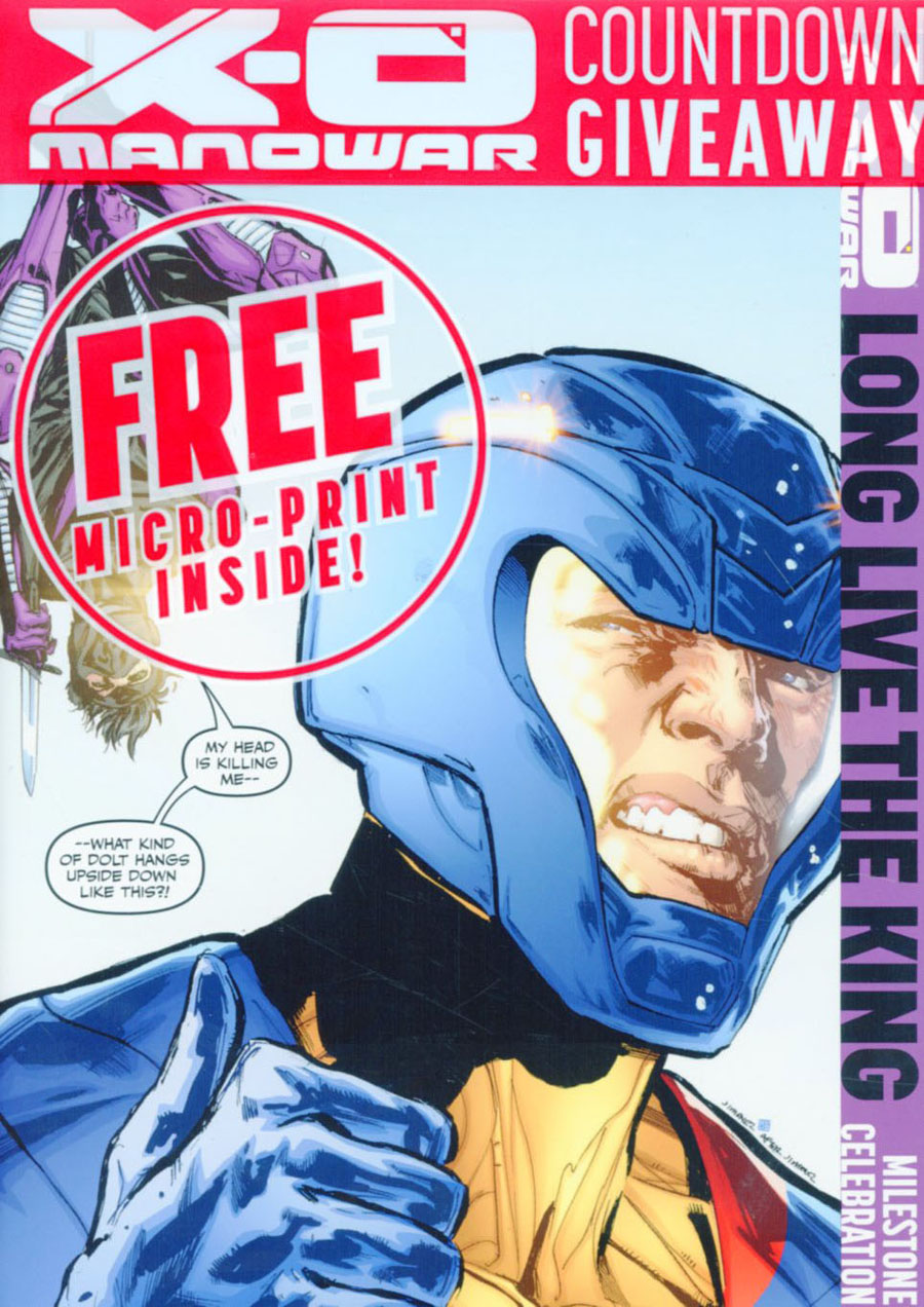 X-O Manowar Vol 3 #50 Cover L Incentive Phil Jimenez Variant Cover