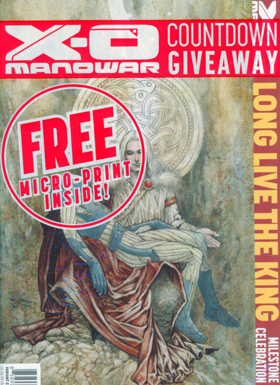 X-O Manowar Vol 3 #50 Cover N Incentive Colleen Doran Variant Cover