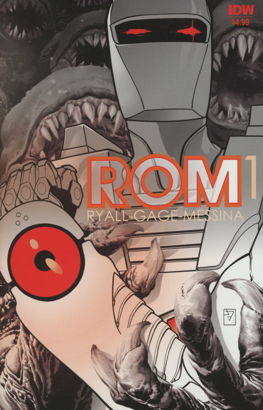 ROM Vol 2 #1 Cover L 2nd Ptg JH Williams III Variant Cover