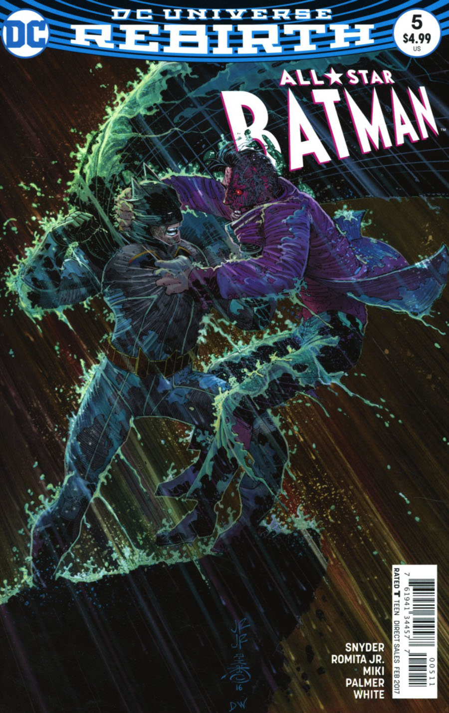 All-Star Batman #5 Cover A Regular John Romita Jr Cover