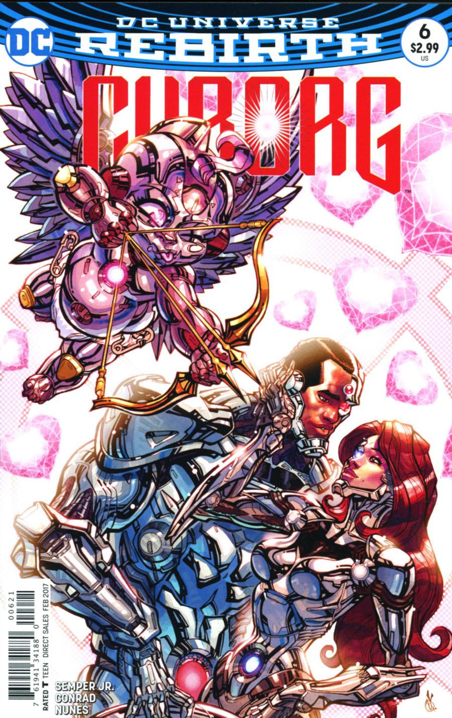 Cyborg Vol 2 #6 Cover B Variant Carlos DAnda Cover