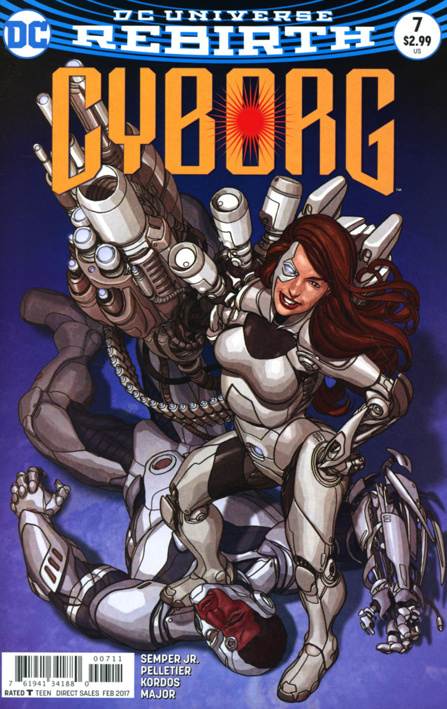 Cyborg Vol 2 #7 Cover A Regular Mike Choi Cover