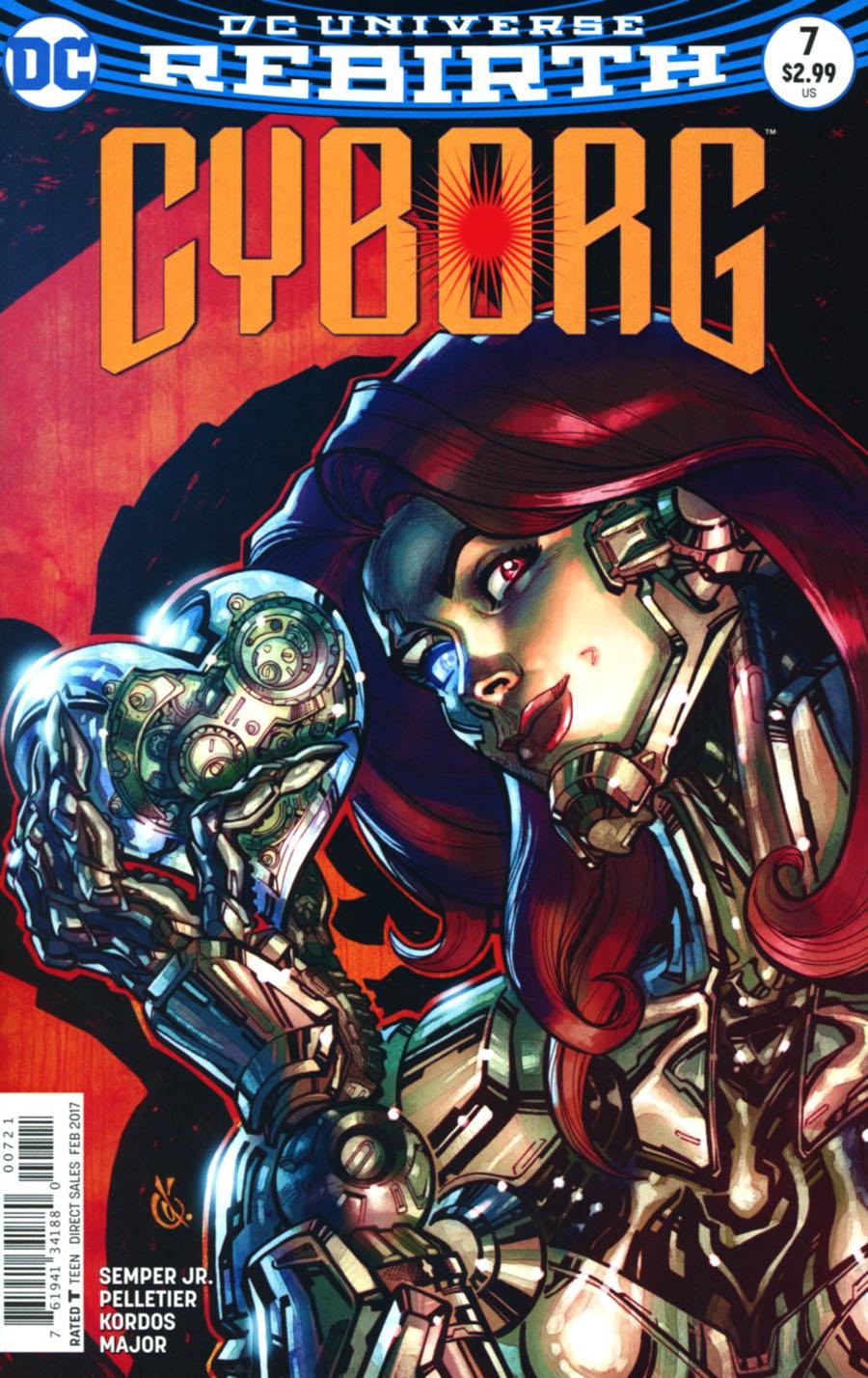 Cyborg Vol 2 #7 Cover B Variant Carlos DAnda Cover