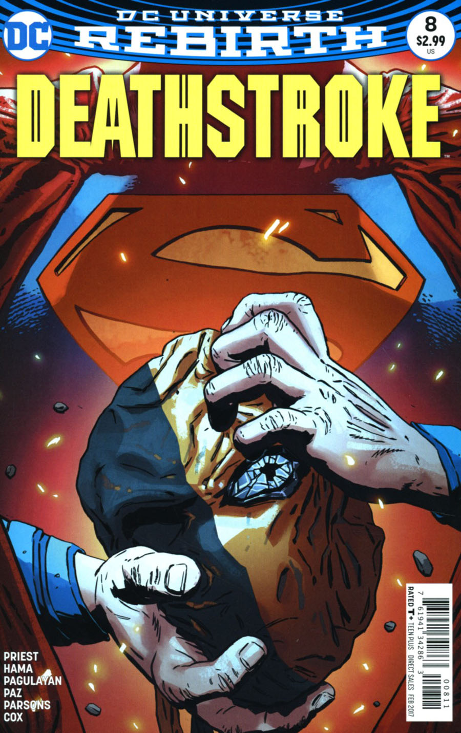 Deathstroke Vol 4 #8 Cover A Regular Aco Cover