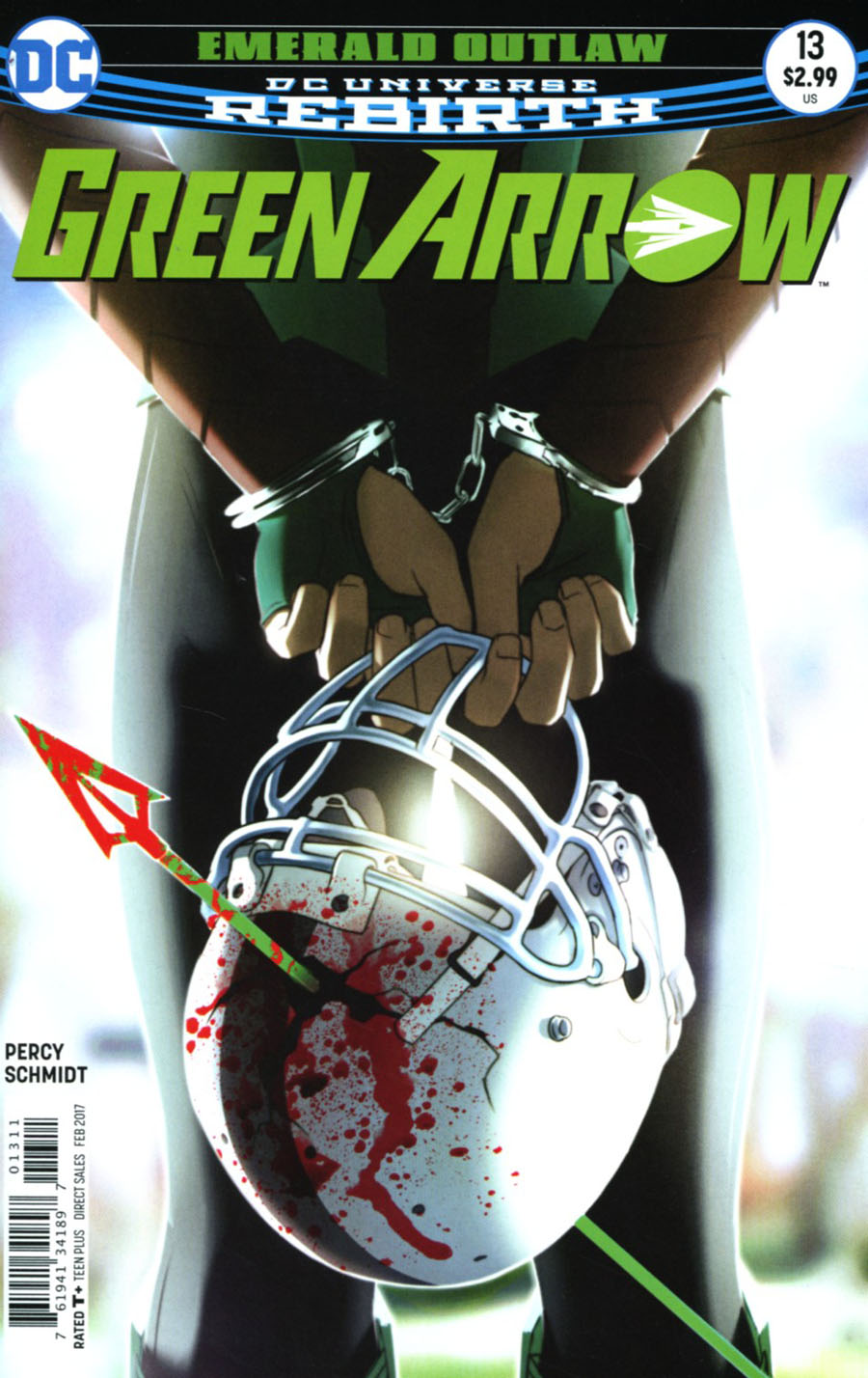 Green Arrow Vol 7 #13 Cover A Regular W Scott Forbes Cover