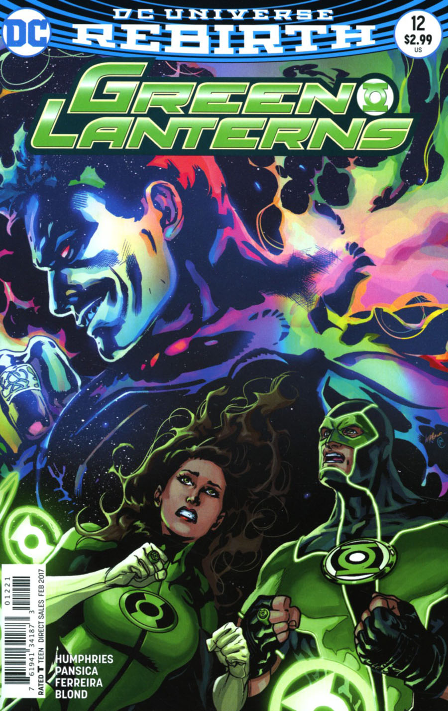 Green Lanterns #12 Cover B Variant Emanuela Lupacchino Cover