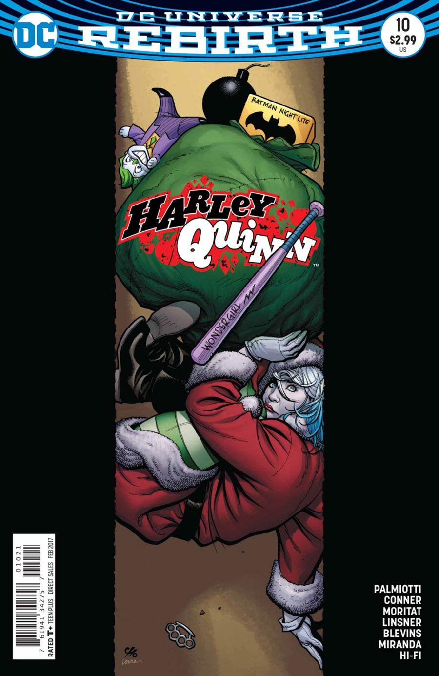 Harley Quinn Vol 3 #10 Cover B Variant Frank Cho Cover