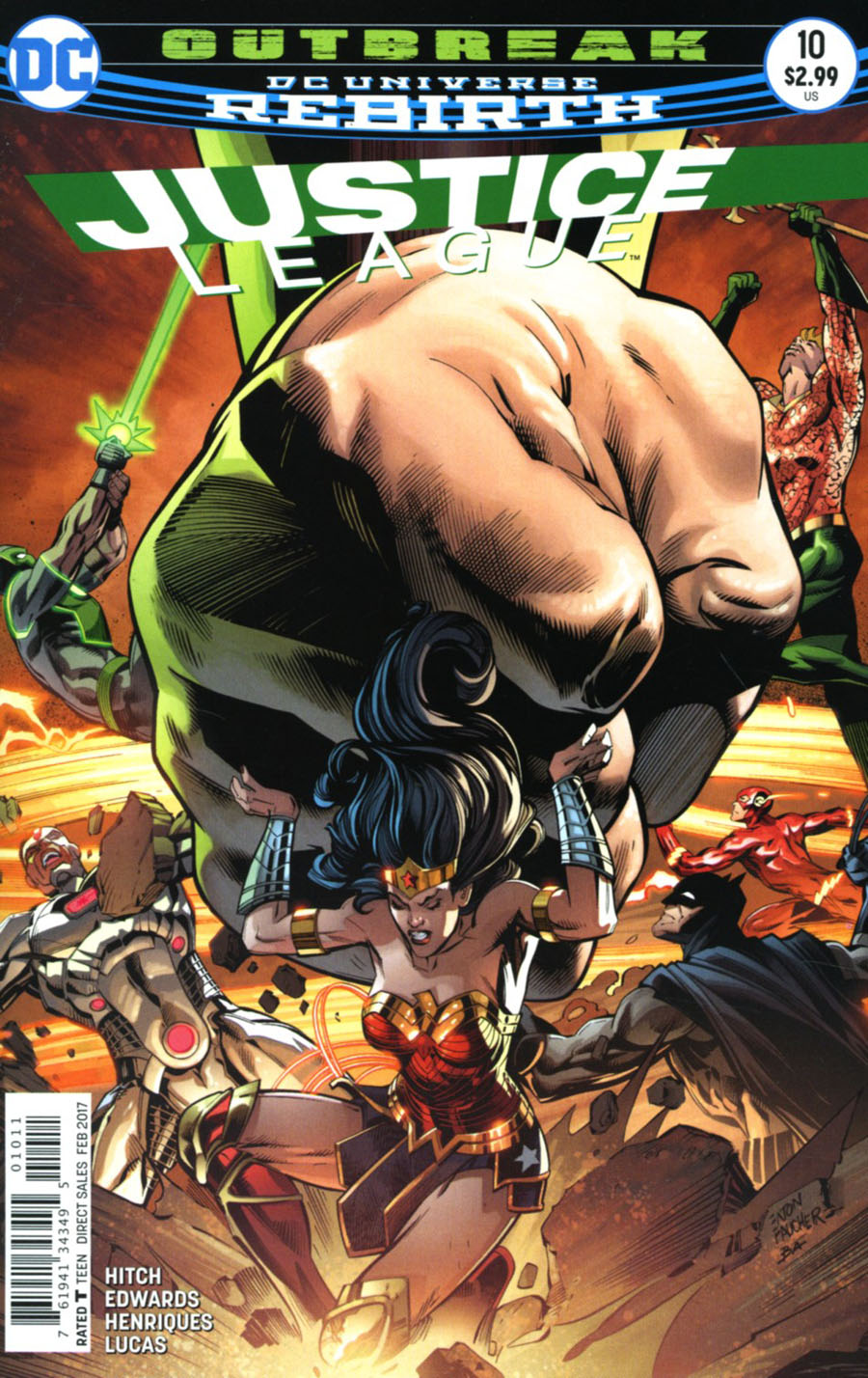Justice League Vol 3 #10 Cover A Regular Fernando Pasarin & Matt Ryan Cover