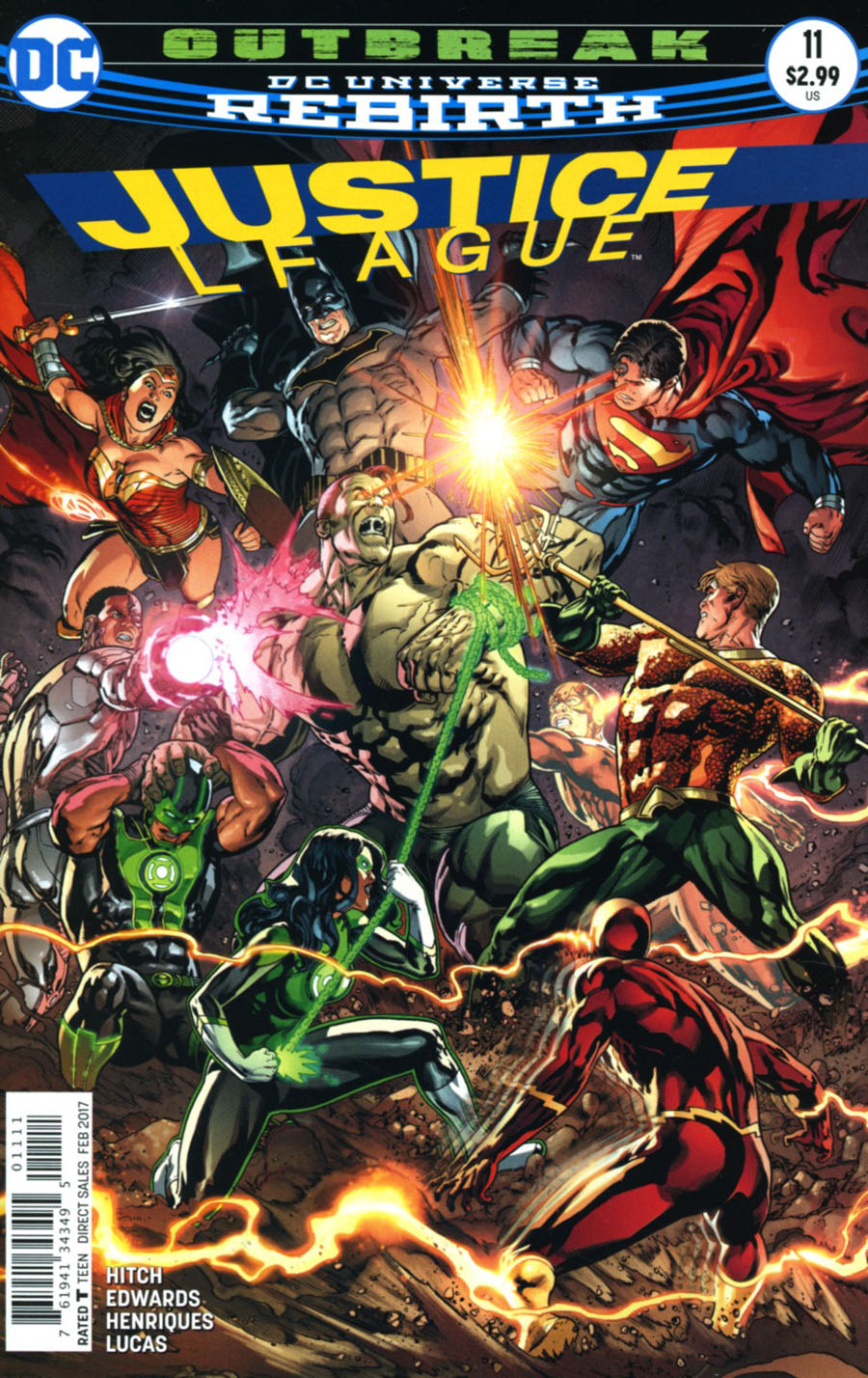 Justice League Vol 3 #11 Cover A Regular Fernando Pasarin & Matt Ryan Cover