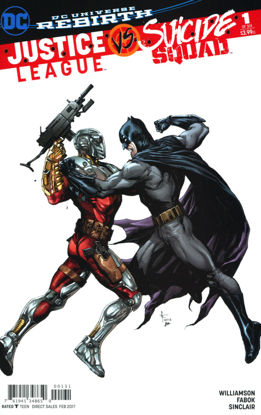 Justice League vs Suicide Squad #1 Cover F Variant Gary Frank Suicide Squad Cover