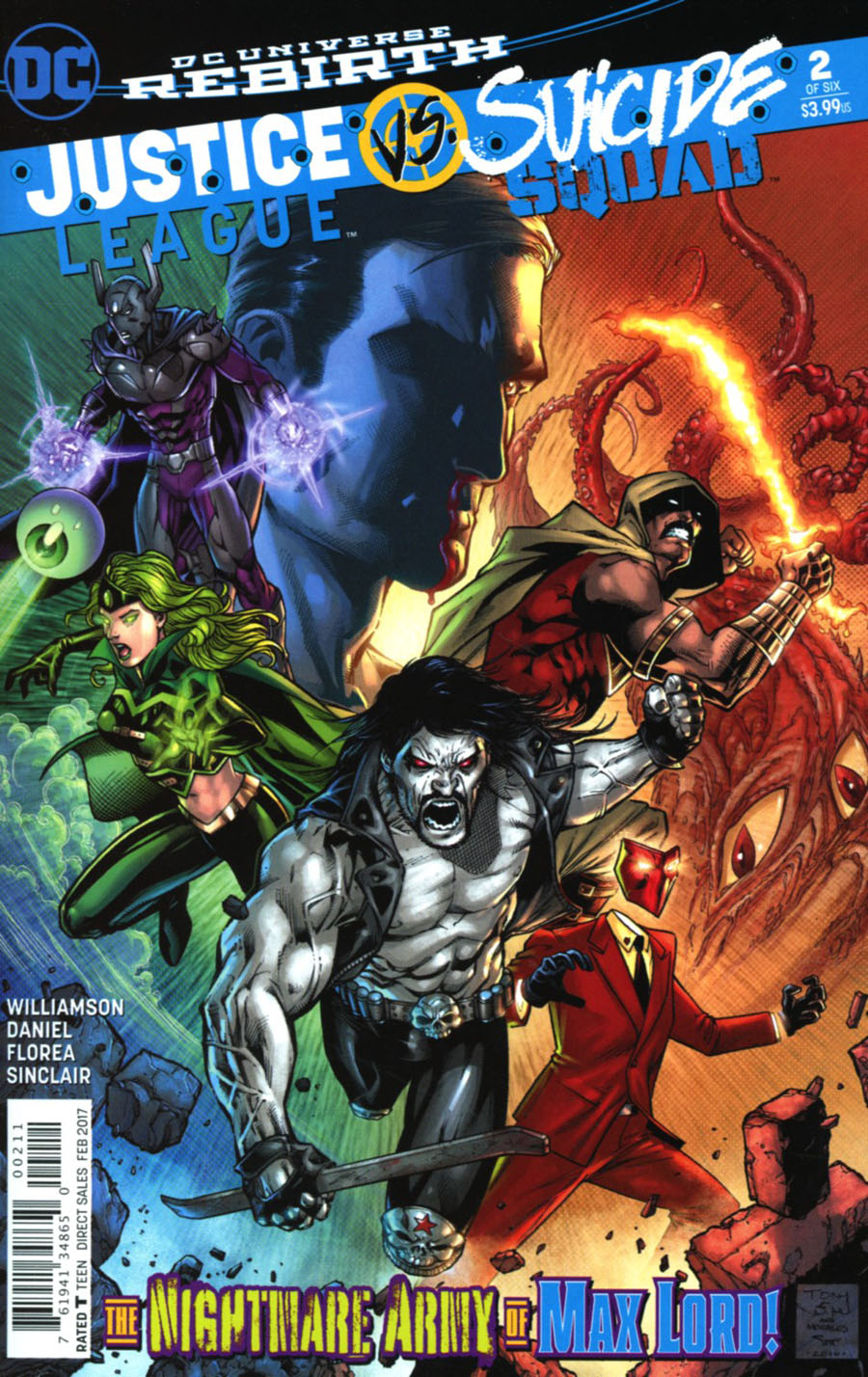 Justice League vs Suicide Squad #2 Cover A Regular Jason Fabok Cover