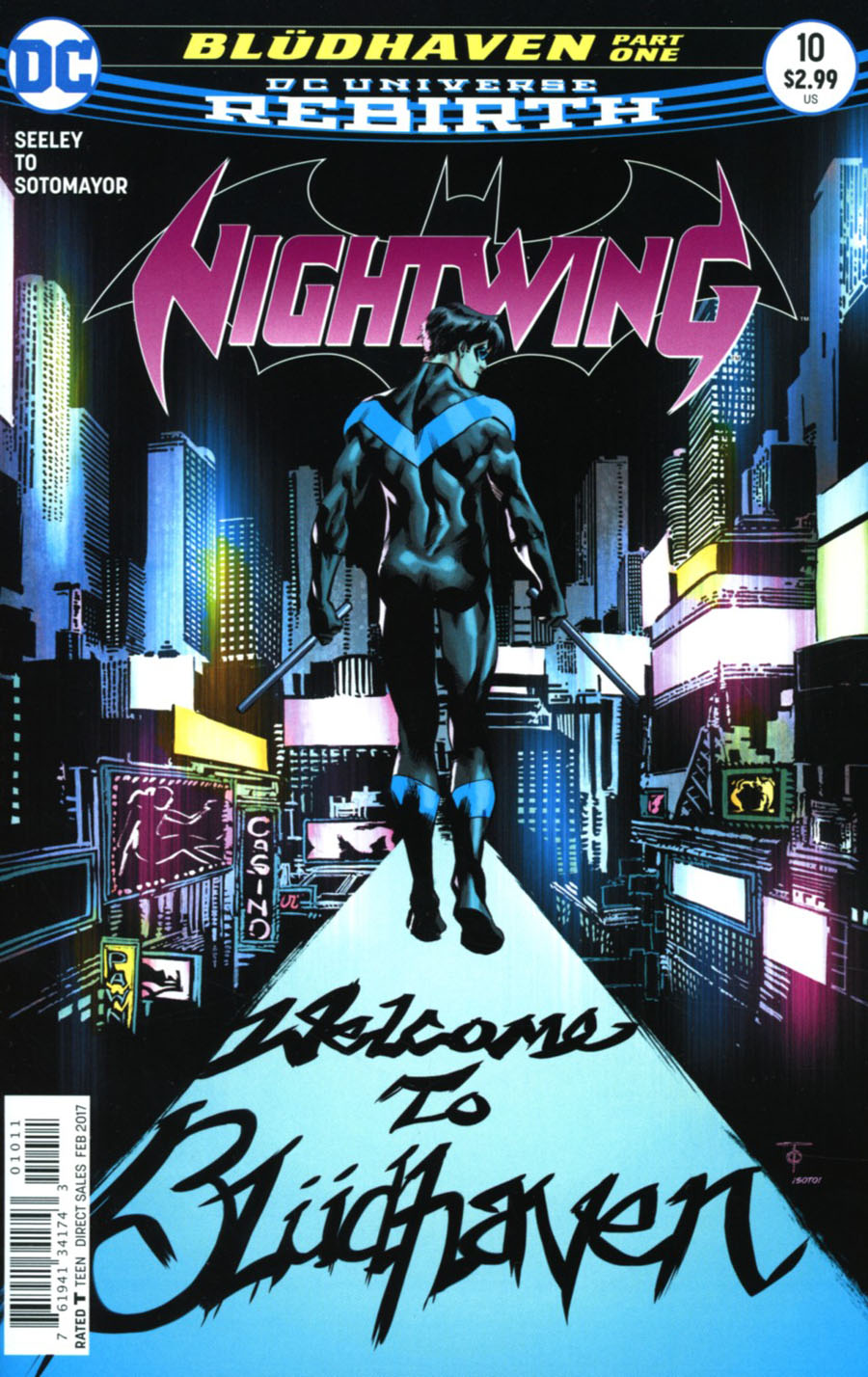 Nightwing Vol 4 #10 Cover A Regular Marcus To Cover