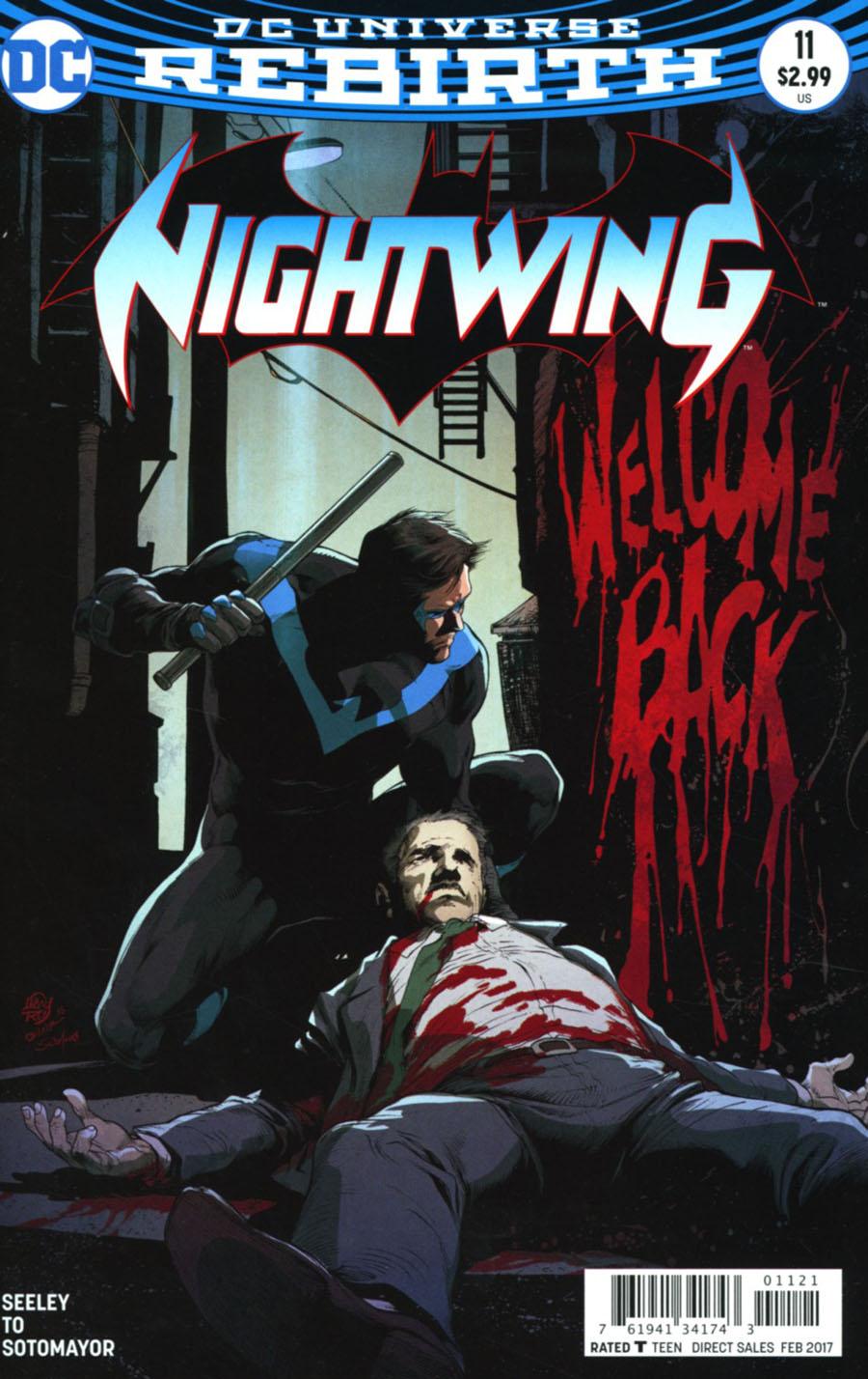 Nightwing Vol 4 #11 Cover B Variant Ivan Reis & Oclair Albert Cover