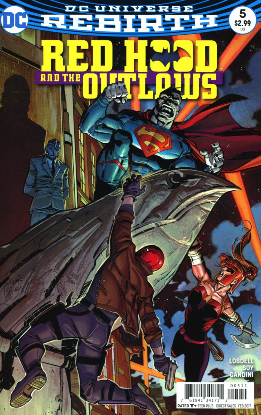 Red Hood And The Outlaws Vol 2 #5 Cover A Regular Giuseppe Camuncoli & Cam Smith Cover