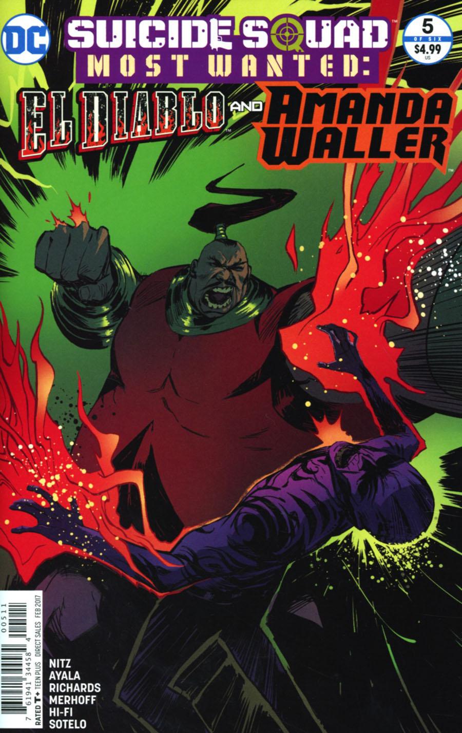 Suicide Squad Most Wanted El Diablo & Amanda Waller #5