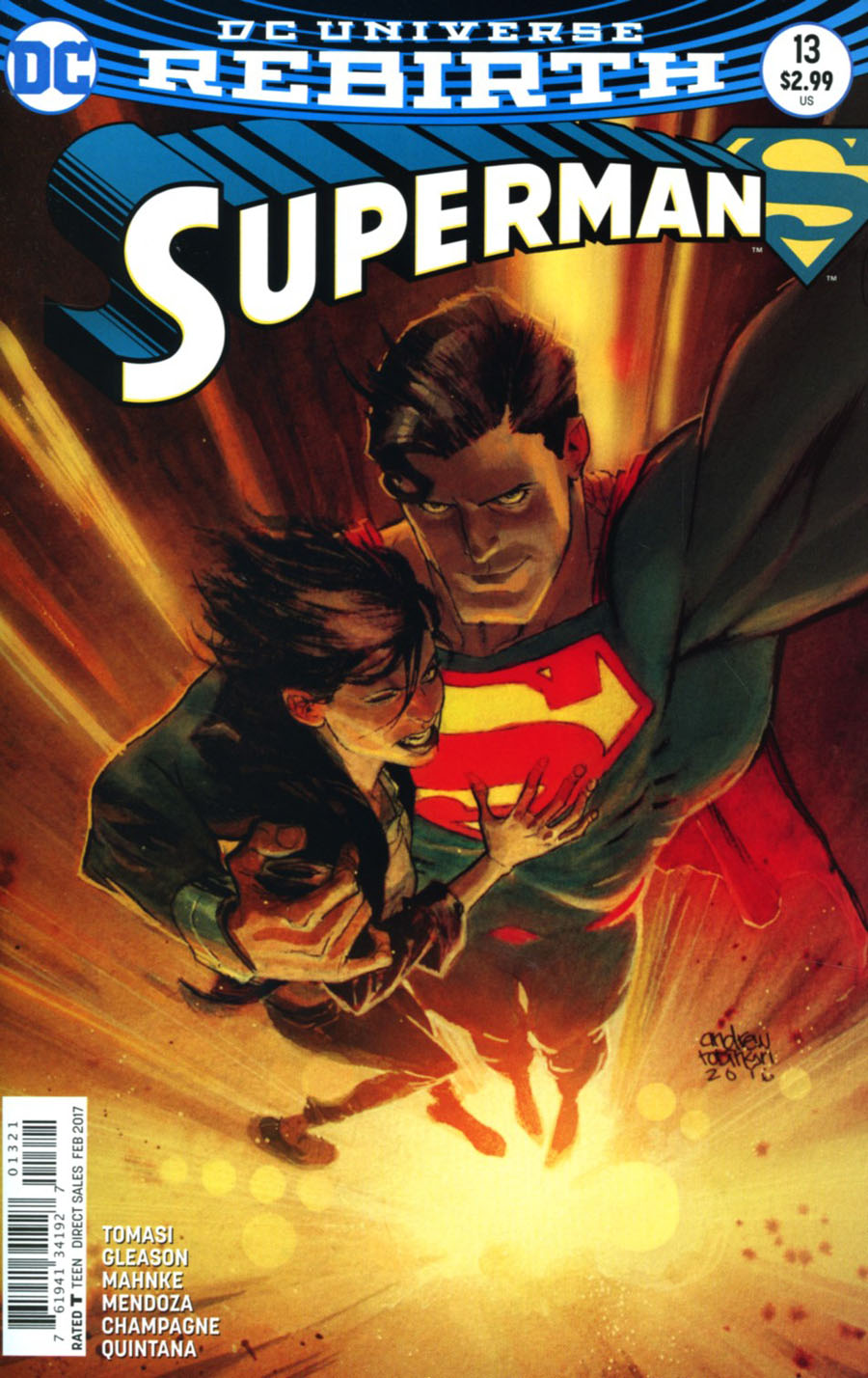Superman Vol 5 #13 Cover B Variant Andrew Robinson Cover