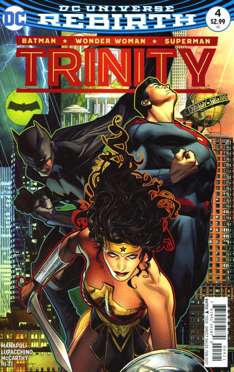 Trinity Vol 2 #4 Cover B Variant Brandon Peterson Cover
