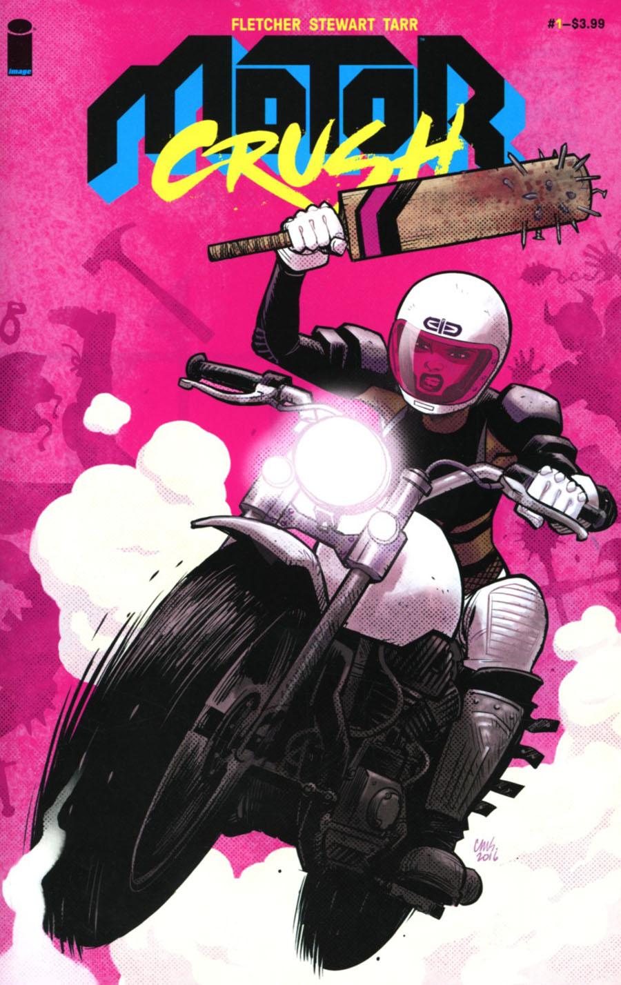 Motor Crush #1 Cover B Cameron Stewart Cover