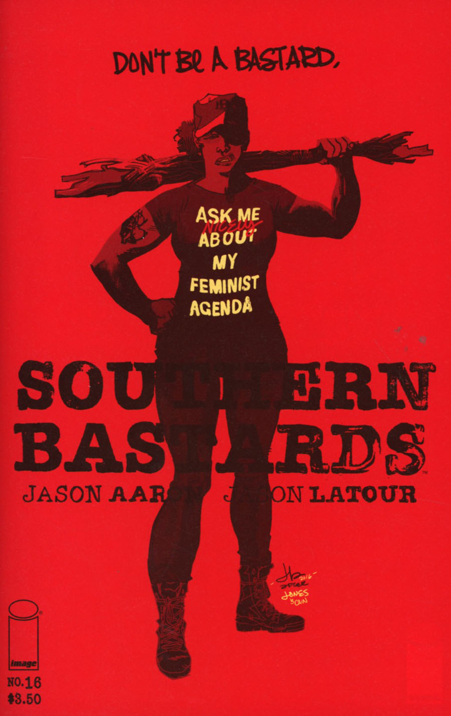 Southern Bastards #16 Cover B Variant Jason Latour Charity Cover