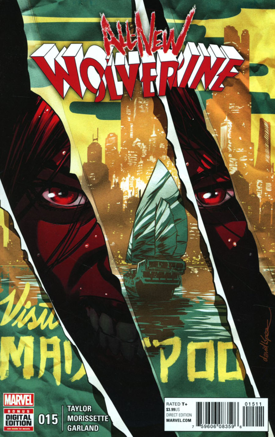All-New Wolverine #15 Cover A Regular David Lopez Cover