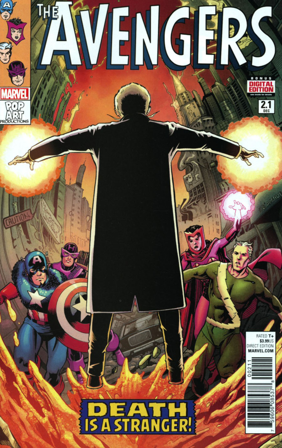 Avengers Vol 6 #2.1 Cover A Regular Barry Kitson Cover