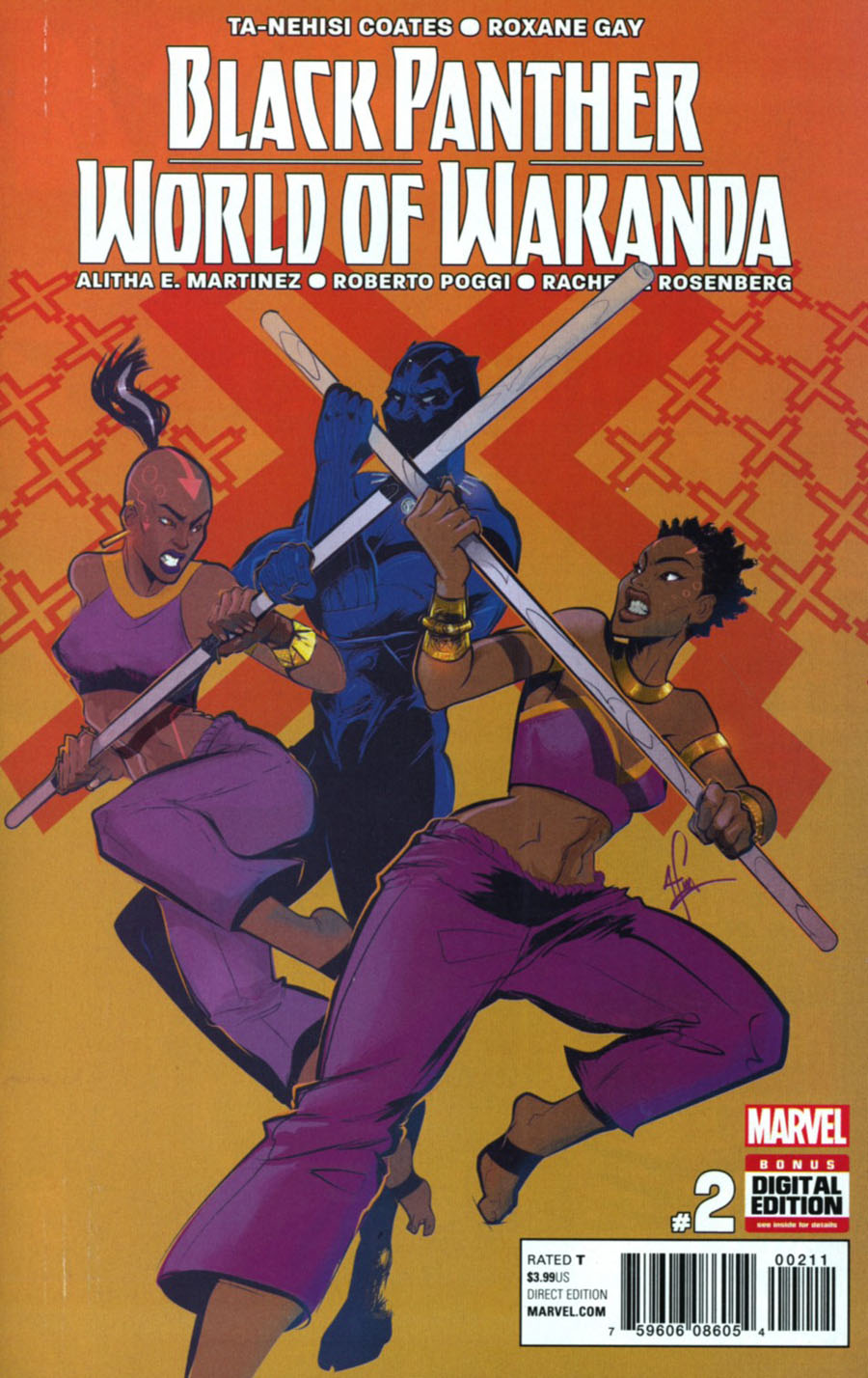 Black Panther World Of Wakanda #2 Cover A Regular Afua Richardson Cover