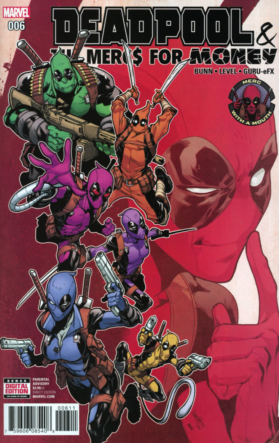 Deadpool And The Mercs For Money Vol 2 #6 Cover A Regular Iban Coello Cover