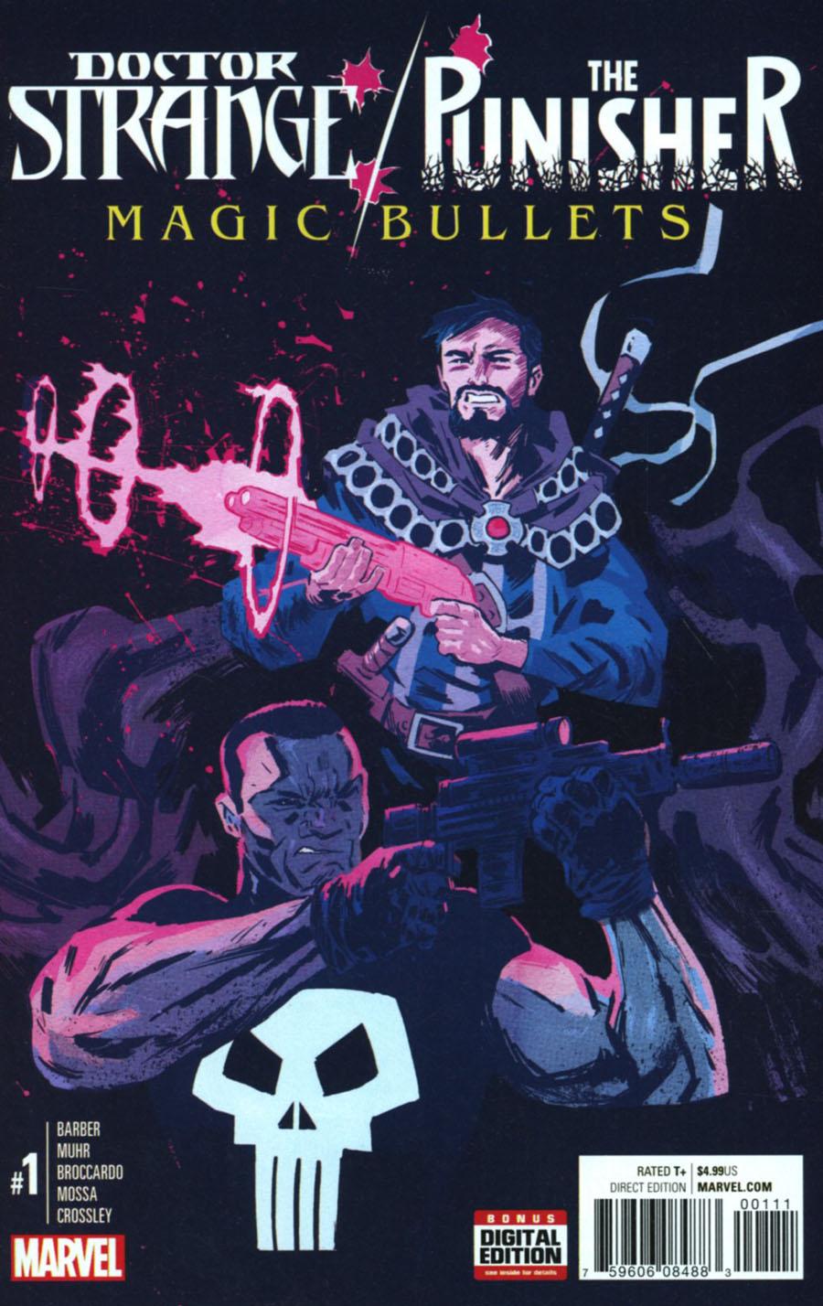 Doctor Strange Punisher Magic Bullets #1 Cover A Regular Michael Walsh Cover