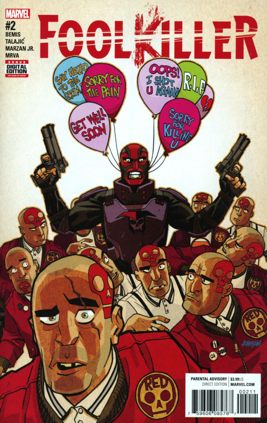 Foolkiller Vol 3 #2 Cover A Regular Dave Johnson Cover