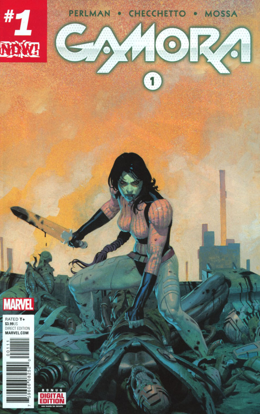 Gamora #1 Cover A Regular Esad Ribic Cover (Marvel Now Tie-In)