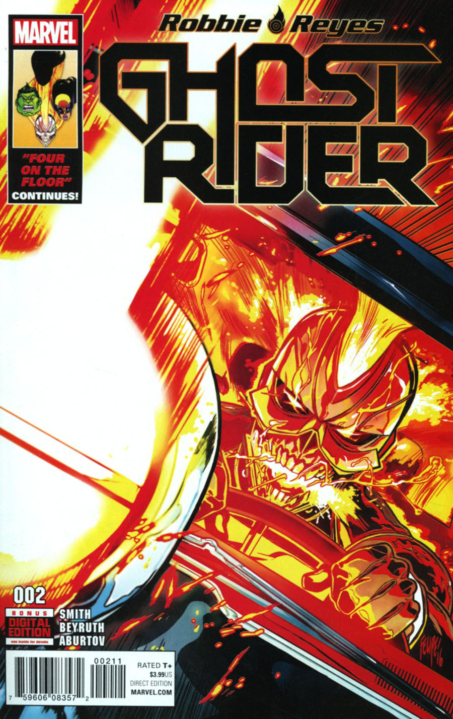 Ghost Rider Vol 7 #2 Cover A Regular Felipe Smith Cover