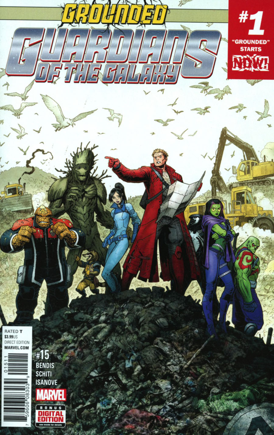 Guardians Of The Galaxy Vol 4 #15 Cover A Regular Arthur Adams Cover (Marvel Now Tie-In)