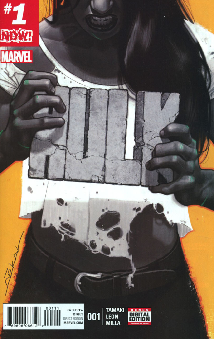 Hulk Vol 4 #1 Cover A 1st Ptg Regular Jeff Dekal Cover (Marvel Now Tie-In)