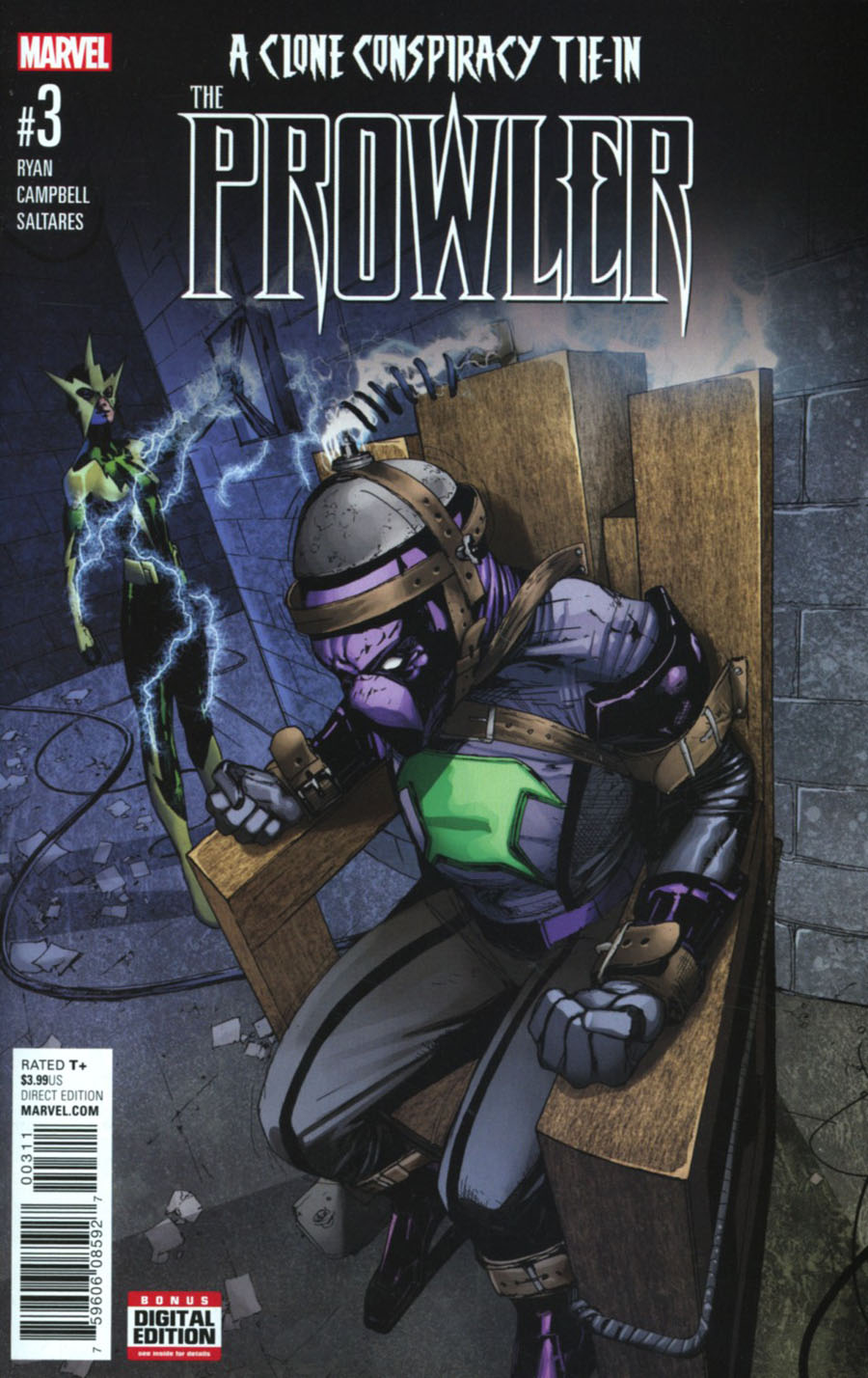 Prowler (Marvel) Vol 2 #3 Cover A Regular Travel Foreman Cover (Clone Conspiracy Tie-In)