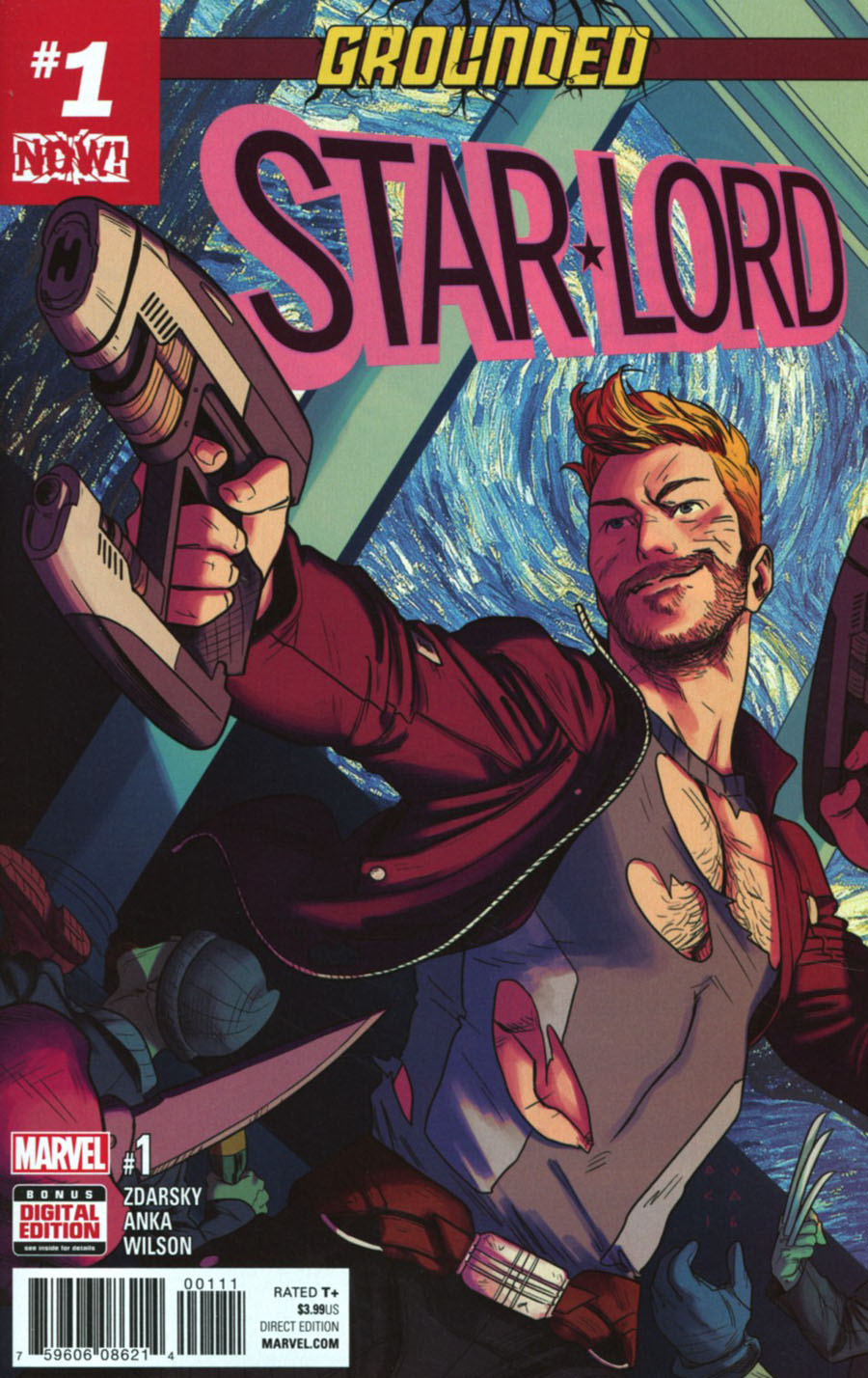 Star-Lord Vol 3 #1 Cover A Regular Kris Anka Cover (Marvel Now Tie-In)