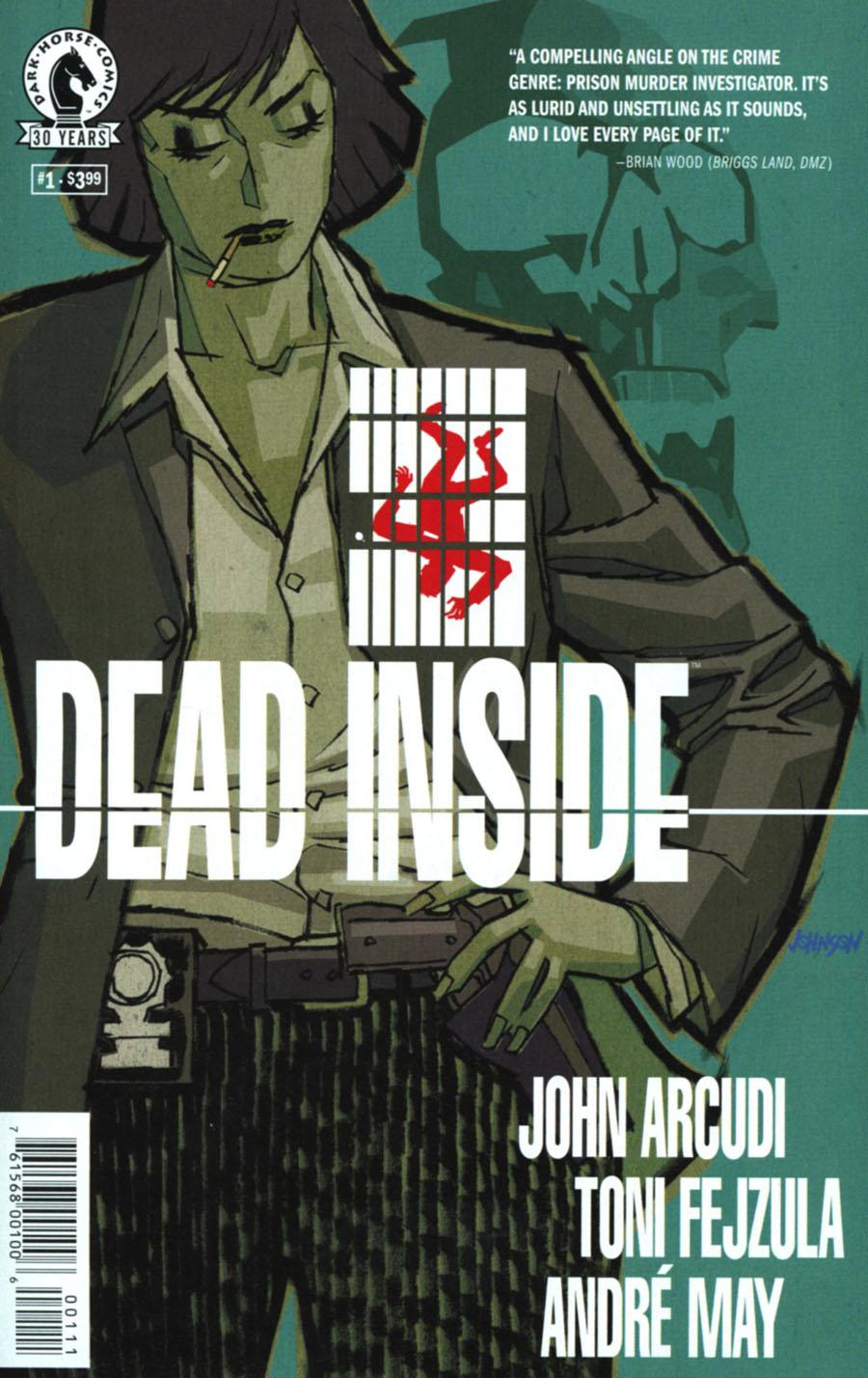 Dead Inside #1 Cover A Regular Dave Johnson Cover