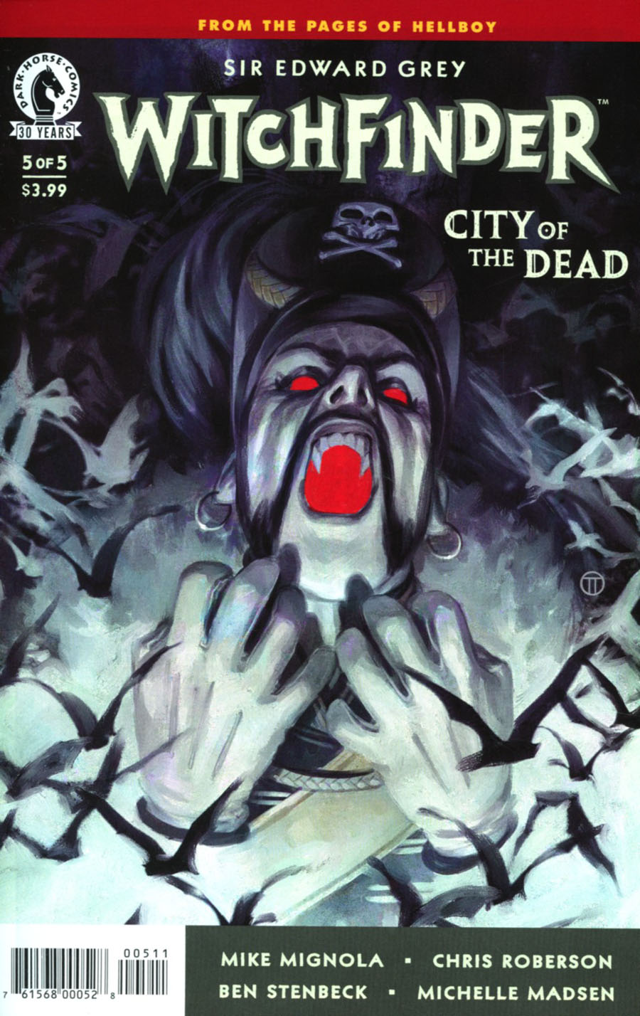 Witchfinder City Of The Dead #5