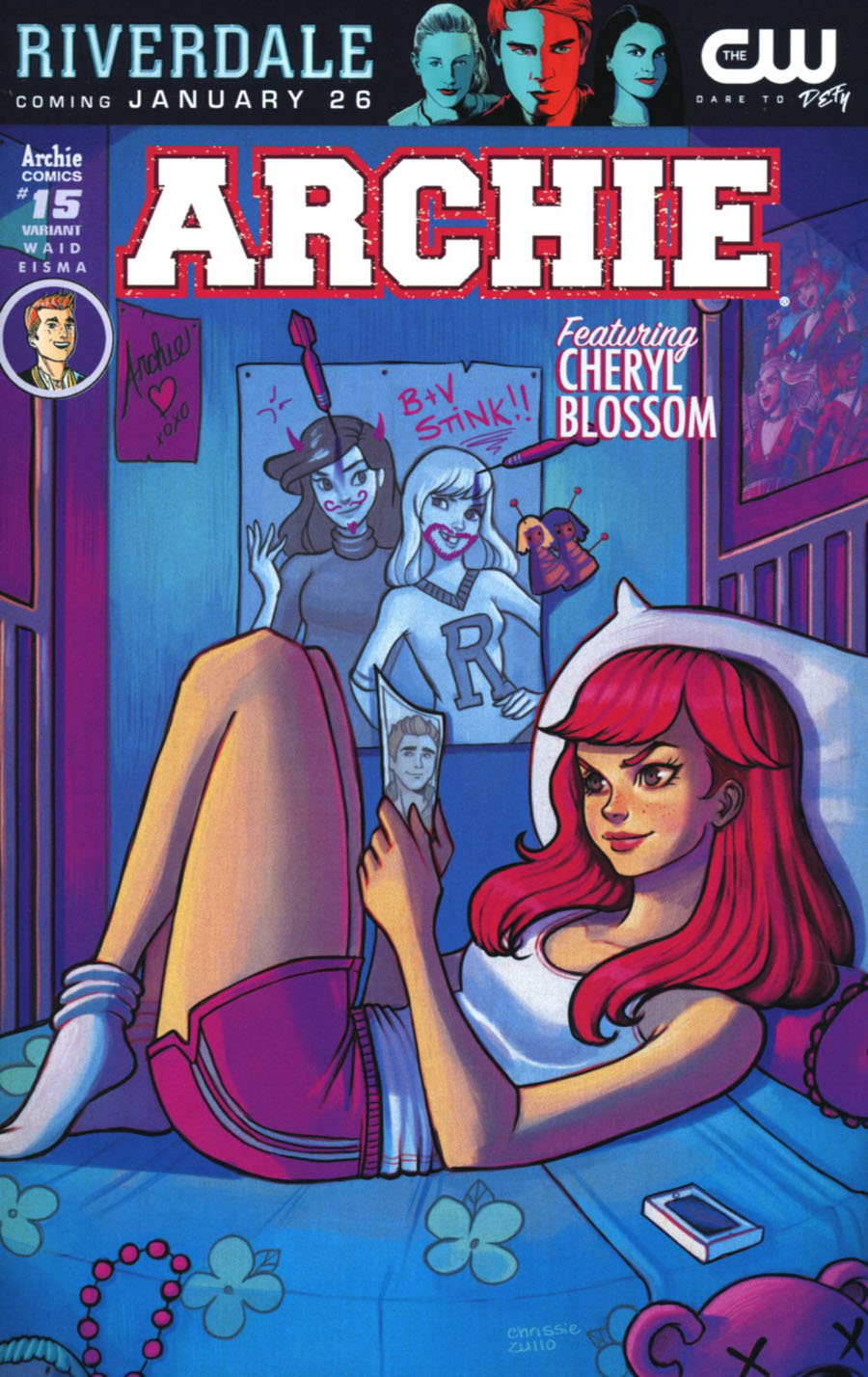 Archie Vol 2 #15 Cover C Variant Chrissie Zullo Cover