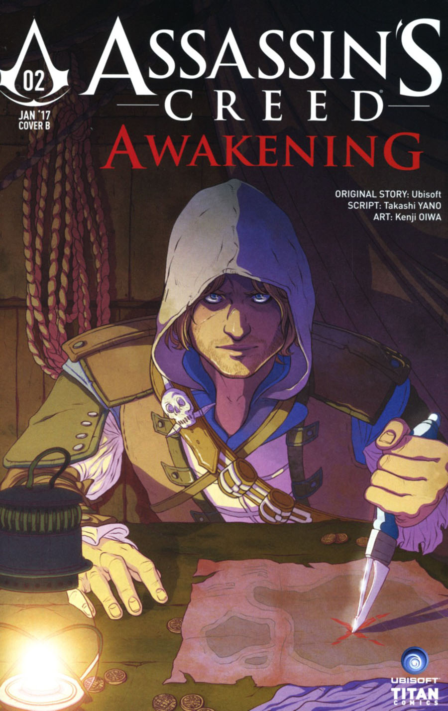 Assassins Creed Awakening #2 Cover B Variant Kate Brown Cover