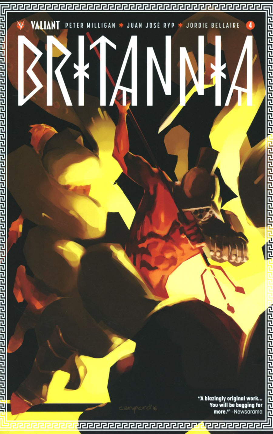 Britannia #4 Cover A 1st Ptg Regular Cary Nord Cover