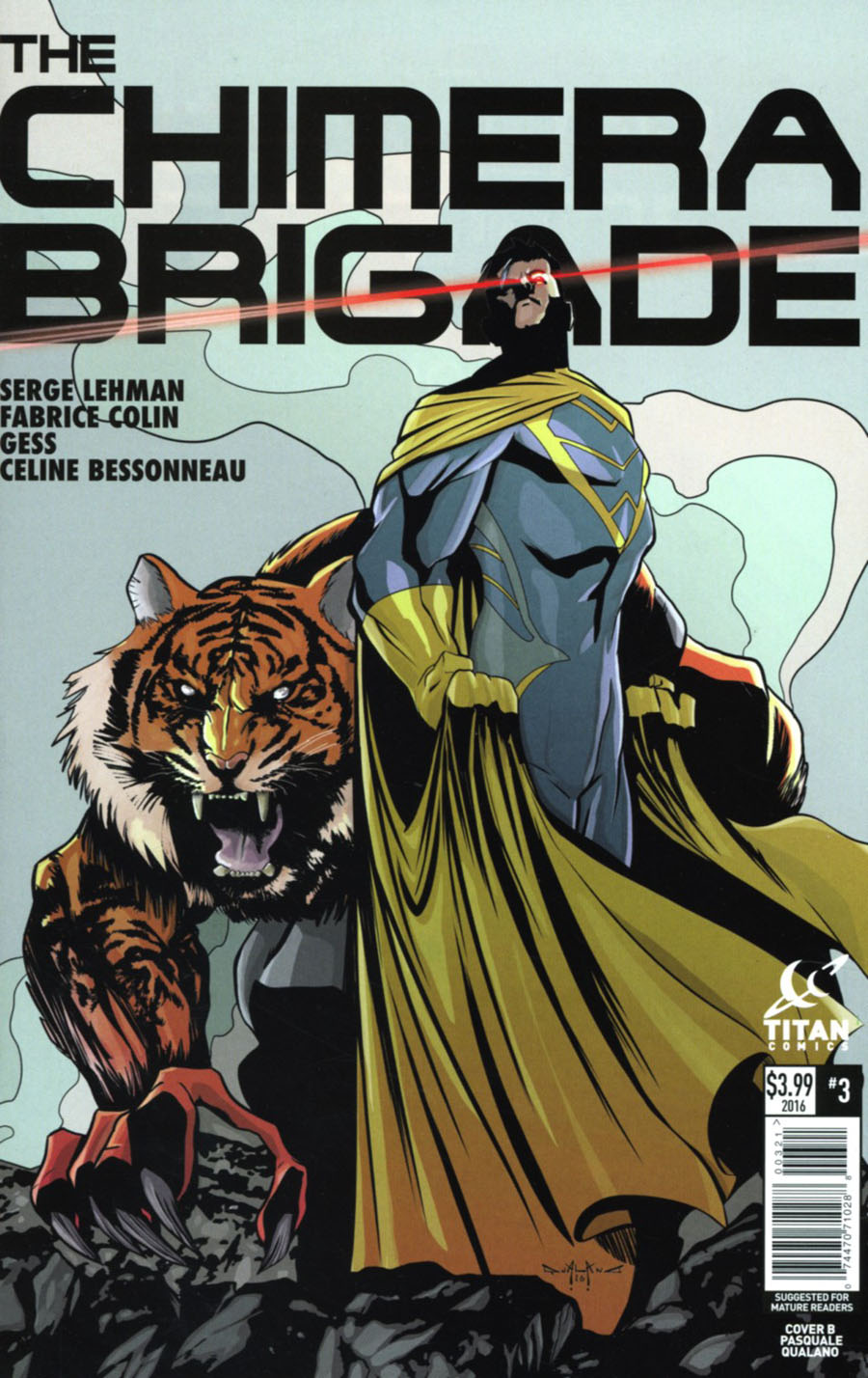 Chimera Brigade #3 Cover B Variant Pasquale Qualano Cover