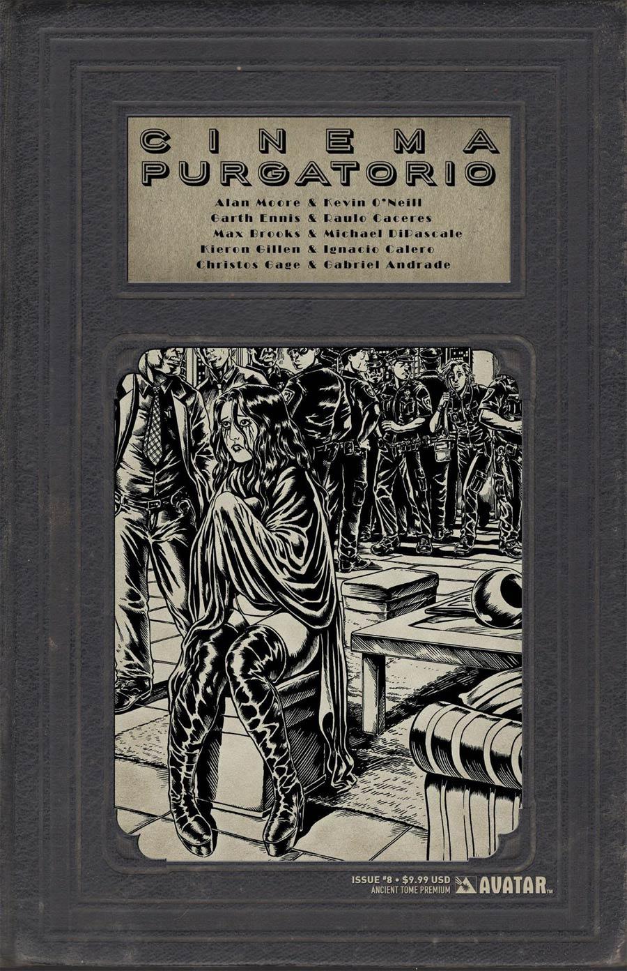 Cinema Purgatorio #8 Cover F Ancient Tome Premium Cover