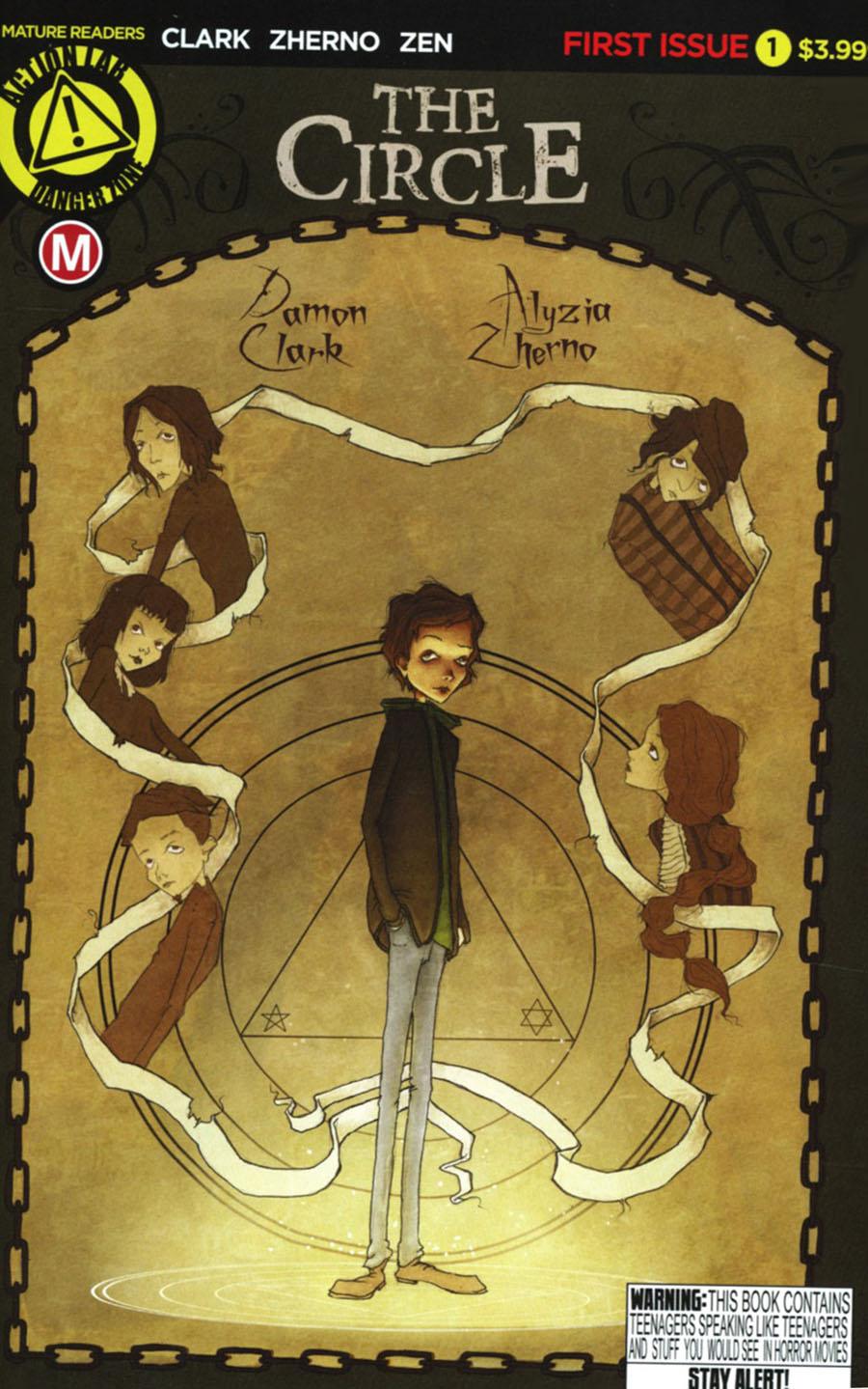 Circle (Danger Zone) #1 Cover A Regular Alyzia Zherno Cover