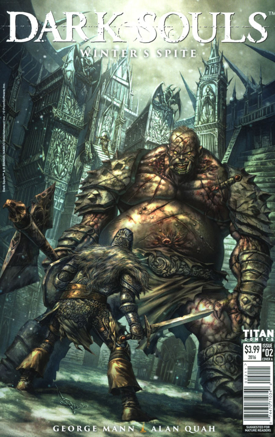 Dark Souls Winters Spite #2 Cover A Regular Alan Quah Cover