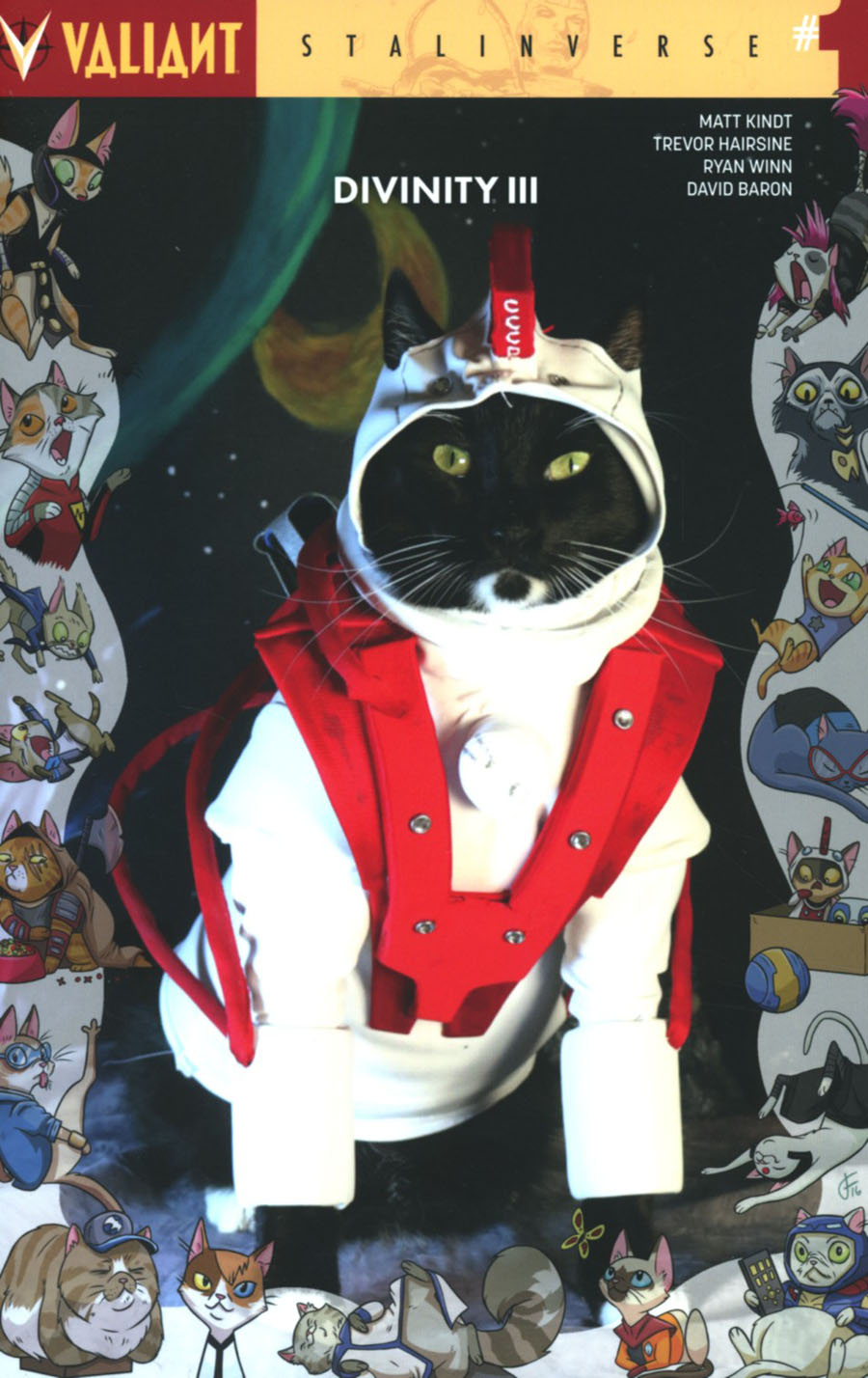 Divinity III Stalinverse #1 Cover D Variant Valiant Cat Cosplay Cover