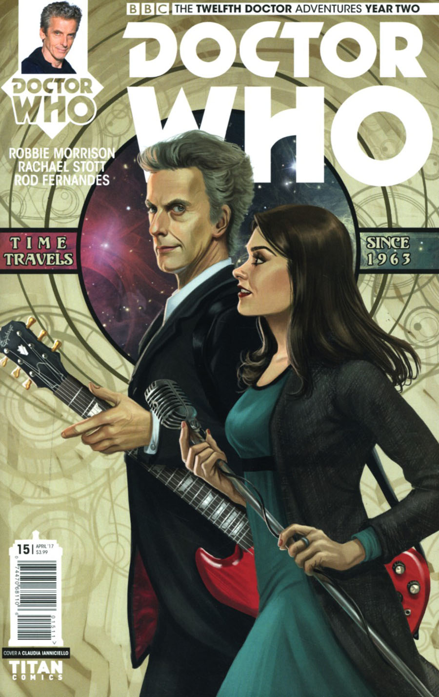 Doctor Who 12th Doctor Year Two #15 Cover A Regular Claudia Ianniciello Cover
