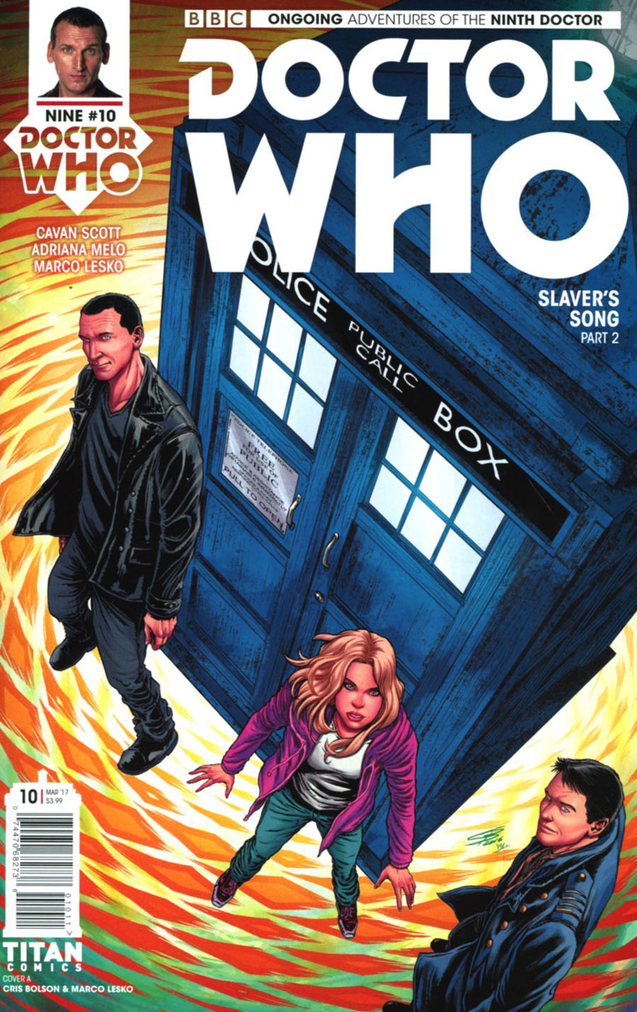 Doctor Who 9th Doctor Vol 2 #10 Cover A Regular Chris Bolson & Marco Lesko Cover